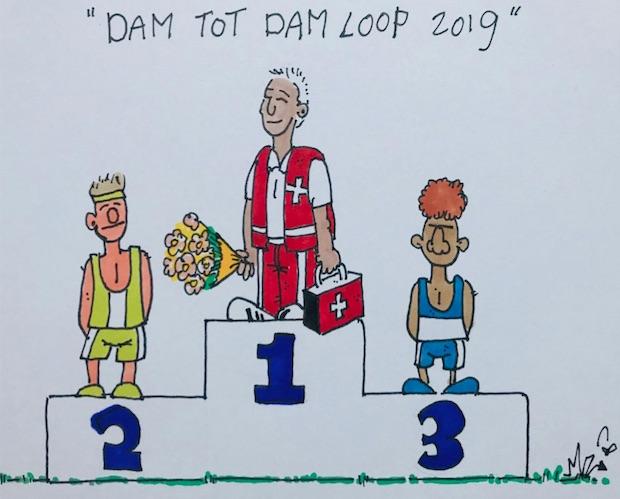 Napret! Dam tot Damloop 2019 (filmpjes)