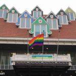 Fijne vlag op regendag… 🌈