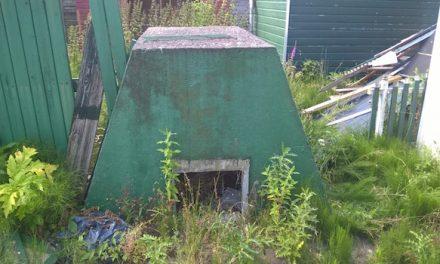 Een bunker in je tuin!