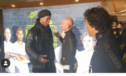 Ronaldinho in Zaandam!