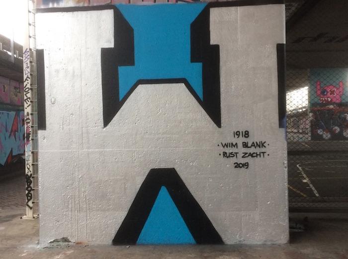 Cool eerbetoon aan verzetsstrijder Wim Blank