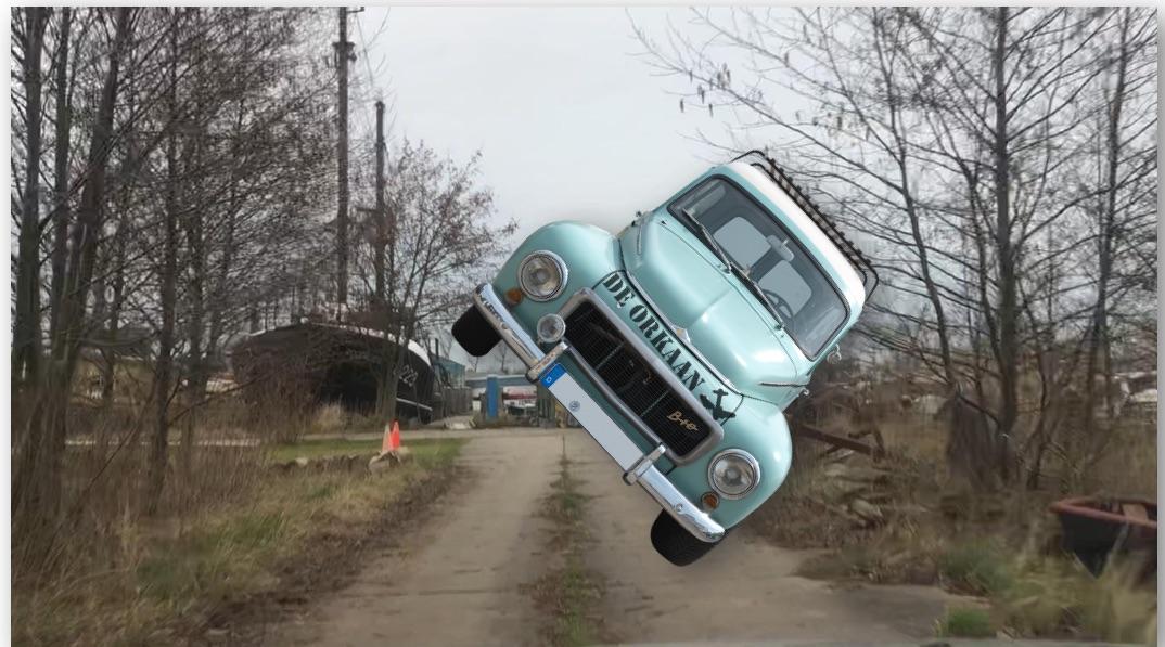 Oude Kalf en Hemmes: Rijden op niks af! (Filmpjes)