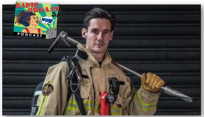 Corona aan de Zaan – Brandweerman Stefan (Podcast)