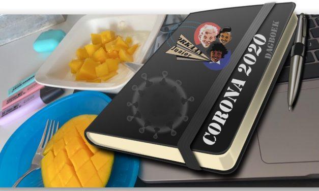 Corona Dagboek dag 10: Niet helemaal eerlijk