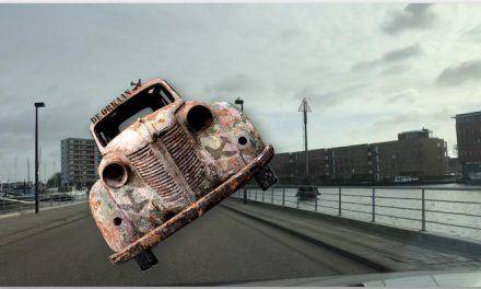 Rijden op niks af! Drempels, Wolkers en Eiland! (filmpjes)