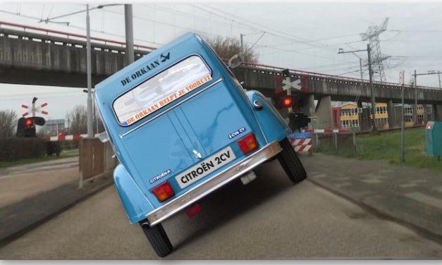 Schildersbuurt en trein: Rijden op niks af!
