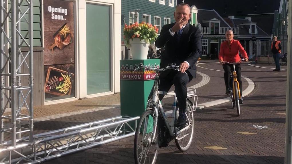 Station Zaandam 4 keer geopend (filmpje)