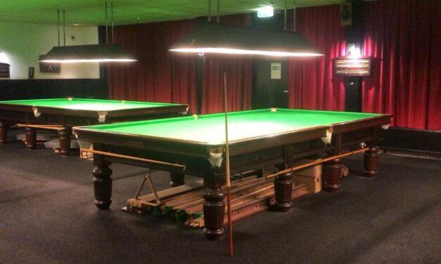 Laatste dag Westend Snooker aan de Westzijde