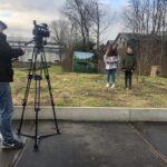 Zaanse Theaterschool bij Holocaust Memorial Day 2021 (achter de schermen)